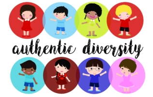 Authentic Diversity Header