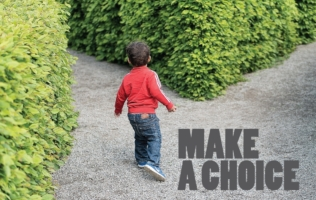 Make A Choice Header