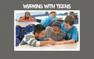 Working With Teens Header